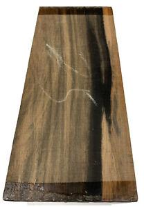 "Palemoon Ébène Guitare Archtop Tailpiece Blank, 8-3/4 "" x 3-1/2 "" X 5/8 """