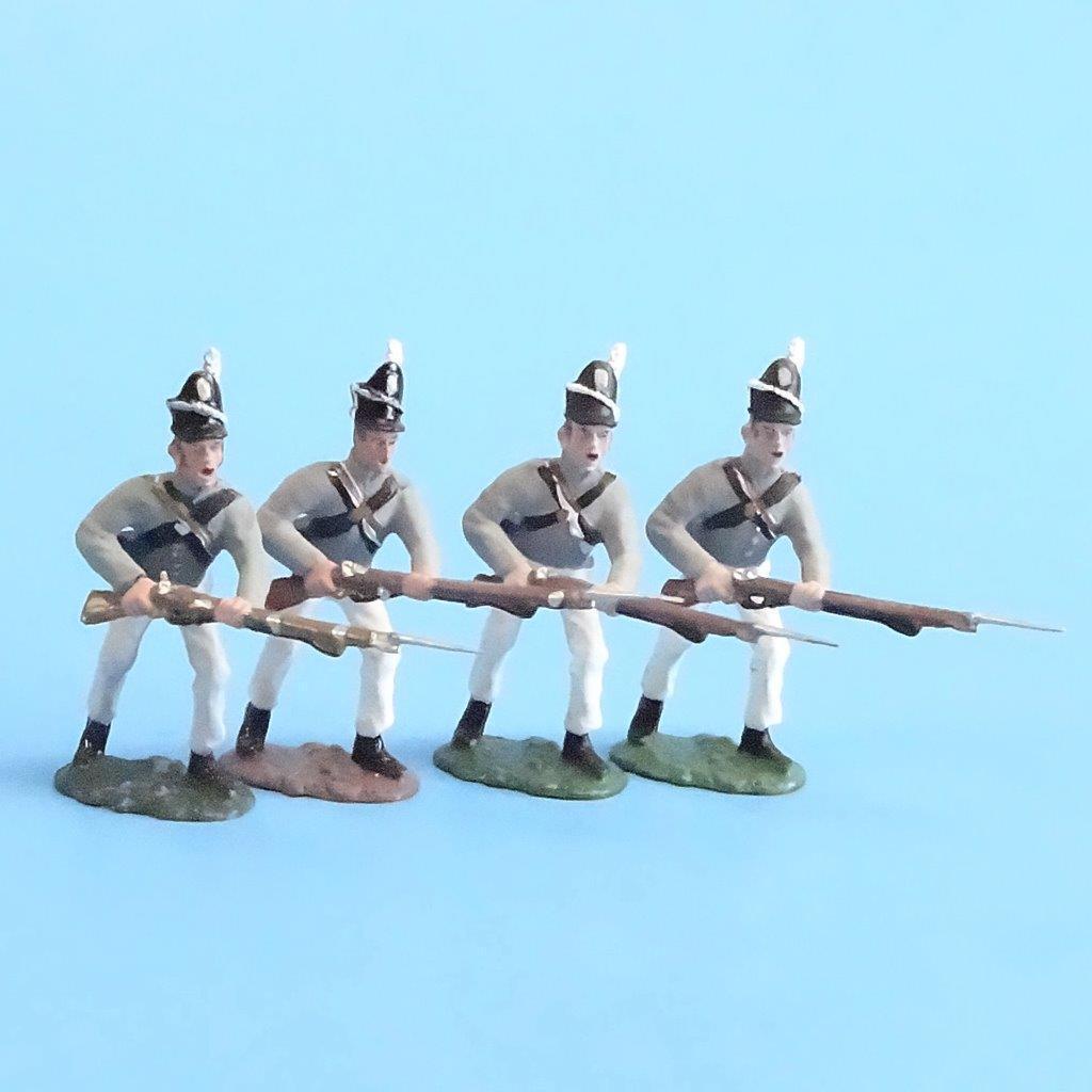 CORD-A0149 - Scotts Brigade Advancing (4 Pieces) - War of 1812