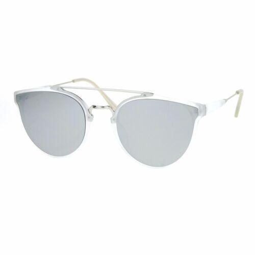Womens Designer Fashion Sunglasses Wing Frame Double Metal Bridge UV 400