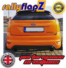 Mud Flaps to fit FORD FOCUS MK1 ZETEC 98-04 RallyflapZ Mudflaps Black 4mm