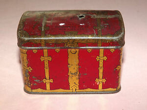 VINTAGE-MINI-CHEST-RUSSIAN-CONSOLIDATED-TEA-CO-TIN