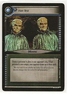 Star Trek CCG 2E These Are The Voyages Grav-Plating Trap 12R37