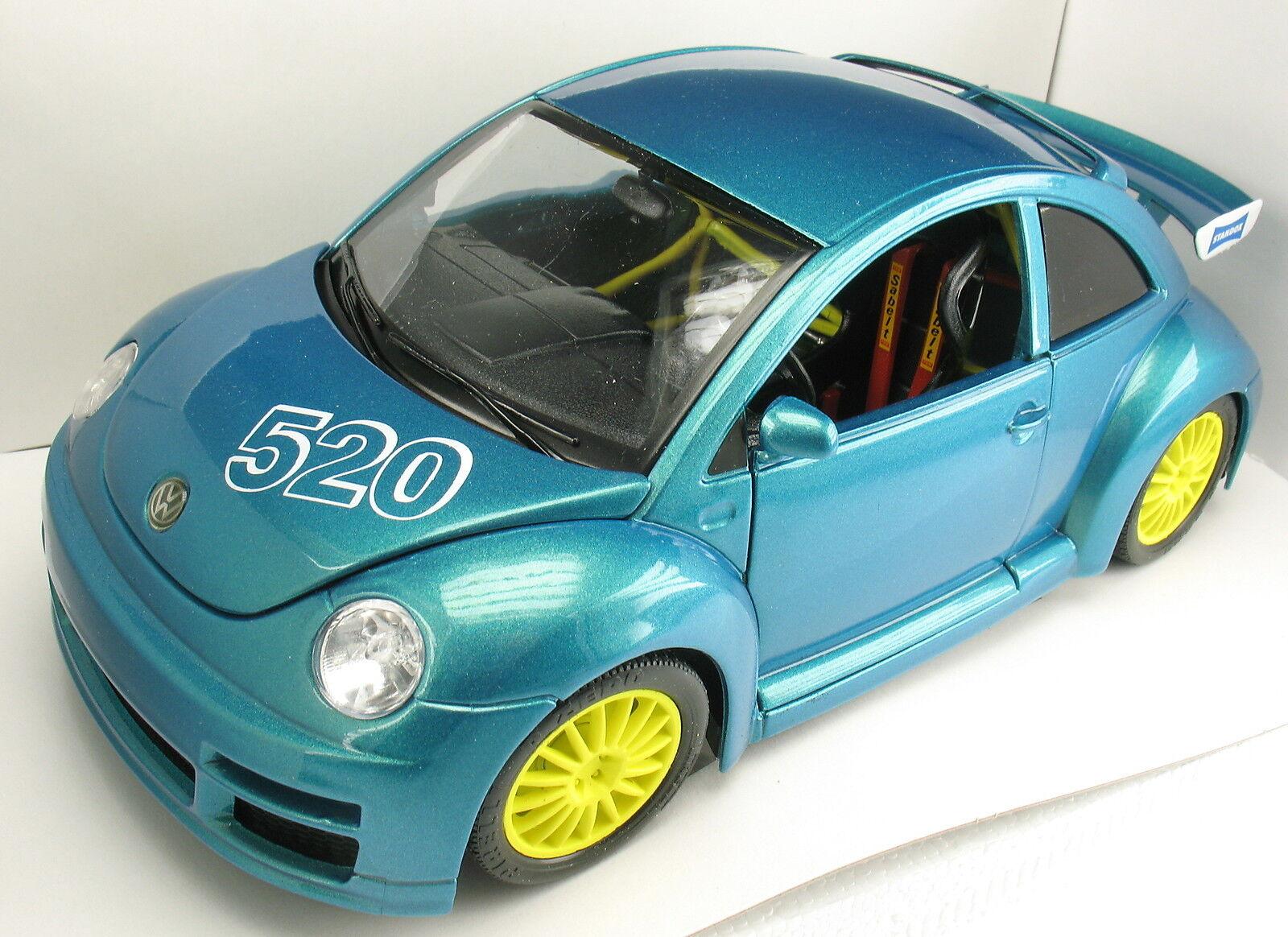 BBURAGO-VW VOLKSWAGEN NEW BEETLE-Standox Vernice-nr 520 - 1 18 BURAGO