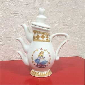 Alice in wonderland Teapot Tokyo Disney Limited Alice Tea Party Pot Tableware
