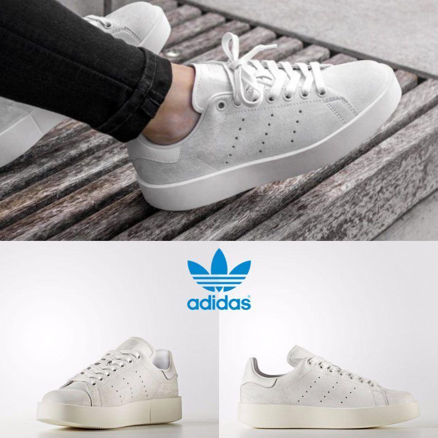 Adidas Eredeti Stan Smith Bold Férfi Fehér CG3776 SZ 4-11 Limited