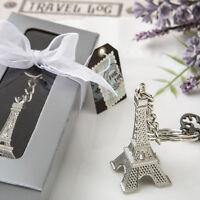 20 Eiffel Tower Key Chain Favor Wedding Favors Bridal Shower Favor Paris Theme