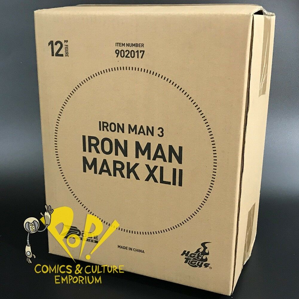 IRON MAN Mark XLII 42 1/6 Scale Figure HOT HOT HOT TOY Sideshow POWER POSE  902017 in US 9a04e7