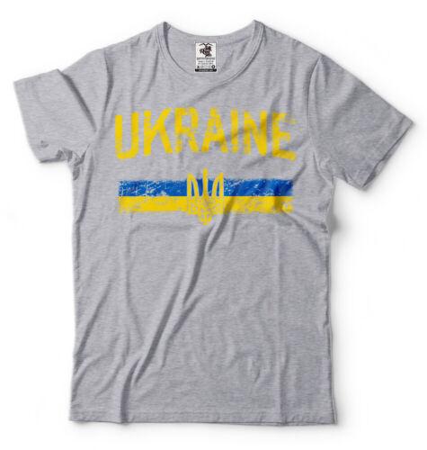 Ukraine Pride Vintage Style Ukrainian Flag Trident Ukraine Heritage T shirt