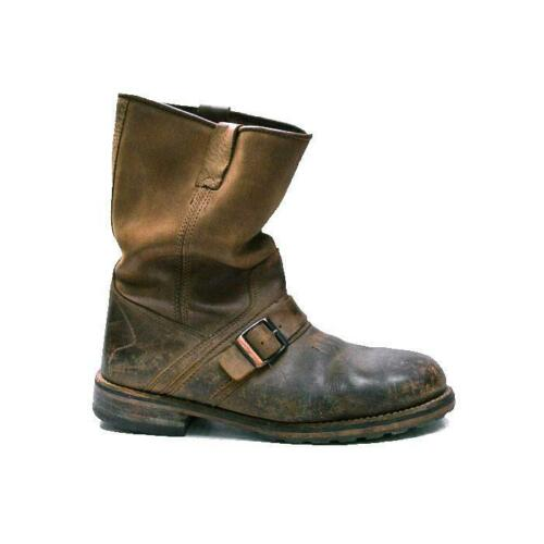 L.L. BEAN engineer boots buckle riding leather men