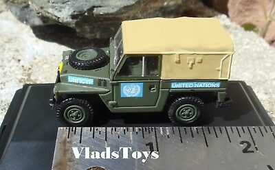 Land Rover 1//2 Ton Lightweight United Nations 1:43 Model OXFORD