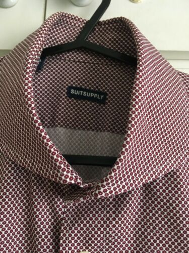 Formal Shirt Suitsupply Shirt Suitsupply 38 38 15'' Formal SqqPpn5wa