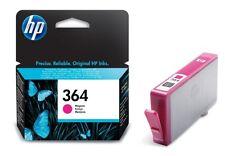 HP 364 No.364 Magenta (CB319EE) Ink Cartridge, Boxed 02/2017 VAT Genuine Orignal
