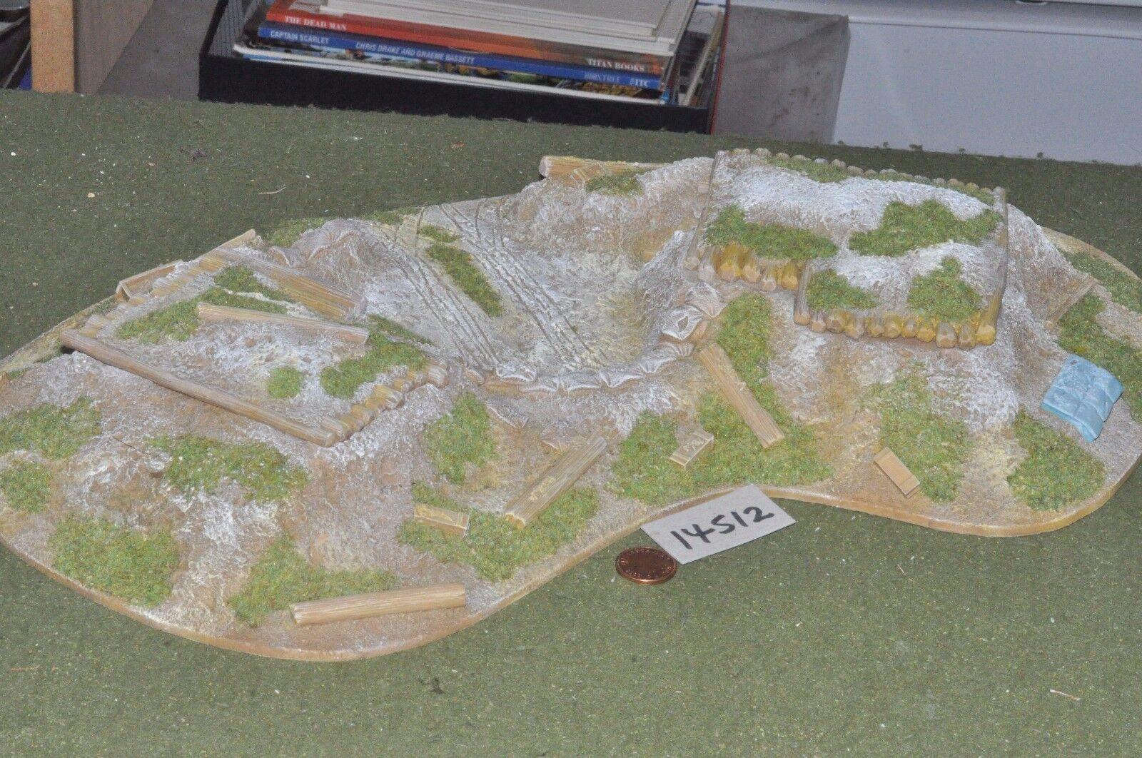 25mm Segunda Guerra Mundial Generic-plazas ocupadas Guerra Mundial 2-Scenics (14512)