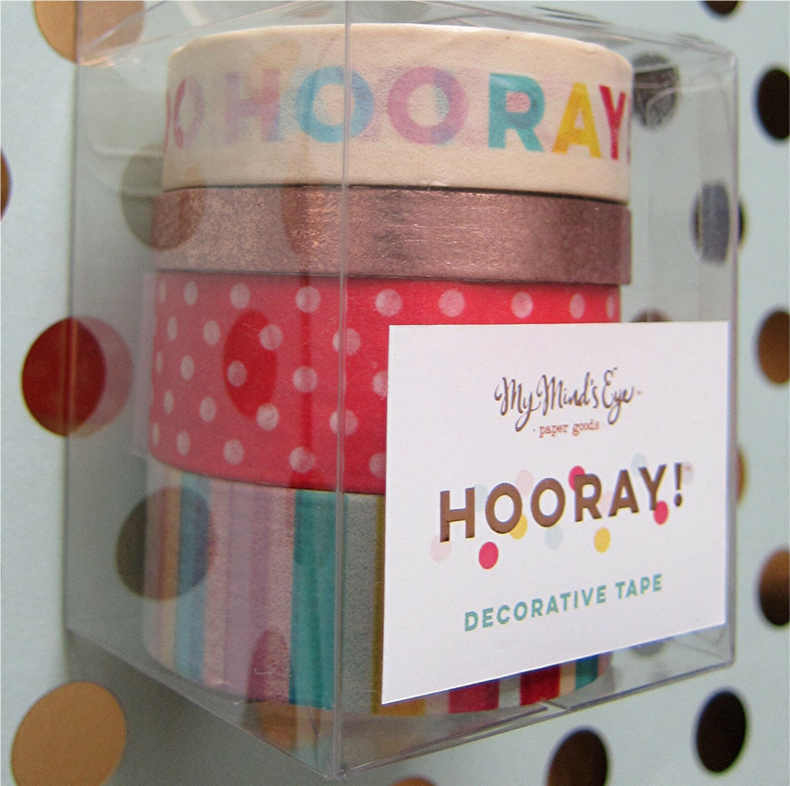 My Mind/'s Eye ~Collectable REMARKABLE Decorative Tape 96ft~ Washi