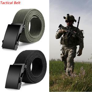 Correa-tactica-cuerpo-Cinturon-Hombre-Mujer-Cintura-Militar-lona-120CM