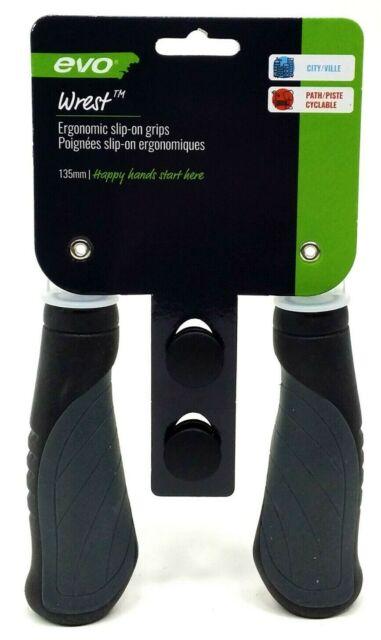 Set of 4 Evo E-Sport Foam Cruiser//Urban Bicycle Handlebar Grips
