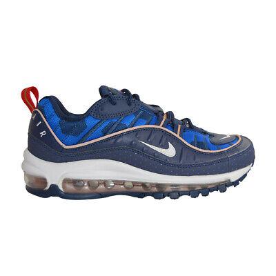 Womens Nike AIR MAX 98 PRM - CI9105400 - BLUE WHITE   eBay