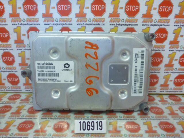 14 DODGE DART 2.4L ENGINE COMPUTER MODULE ECU ECM 05150946AA FACTORY OEM