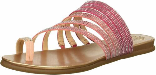 Vince Camuto Women/'s Edwinny Flat Sandal