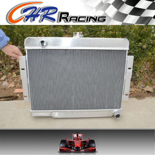 3 ROW 52 mm aluminum radiator for Jeep CJ5 CJ7 L6 V8 1972-1986 chevy engine 73