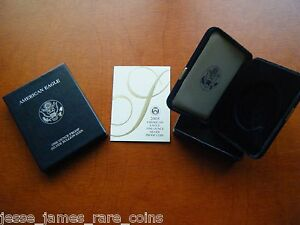 NO-COIN-2005-W-PROOF-SILVER-EAGLE-BOX-COA-OGP-ONLY-BUY-2-GET-3RD-FREE