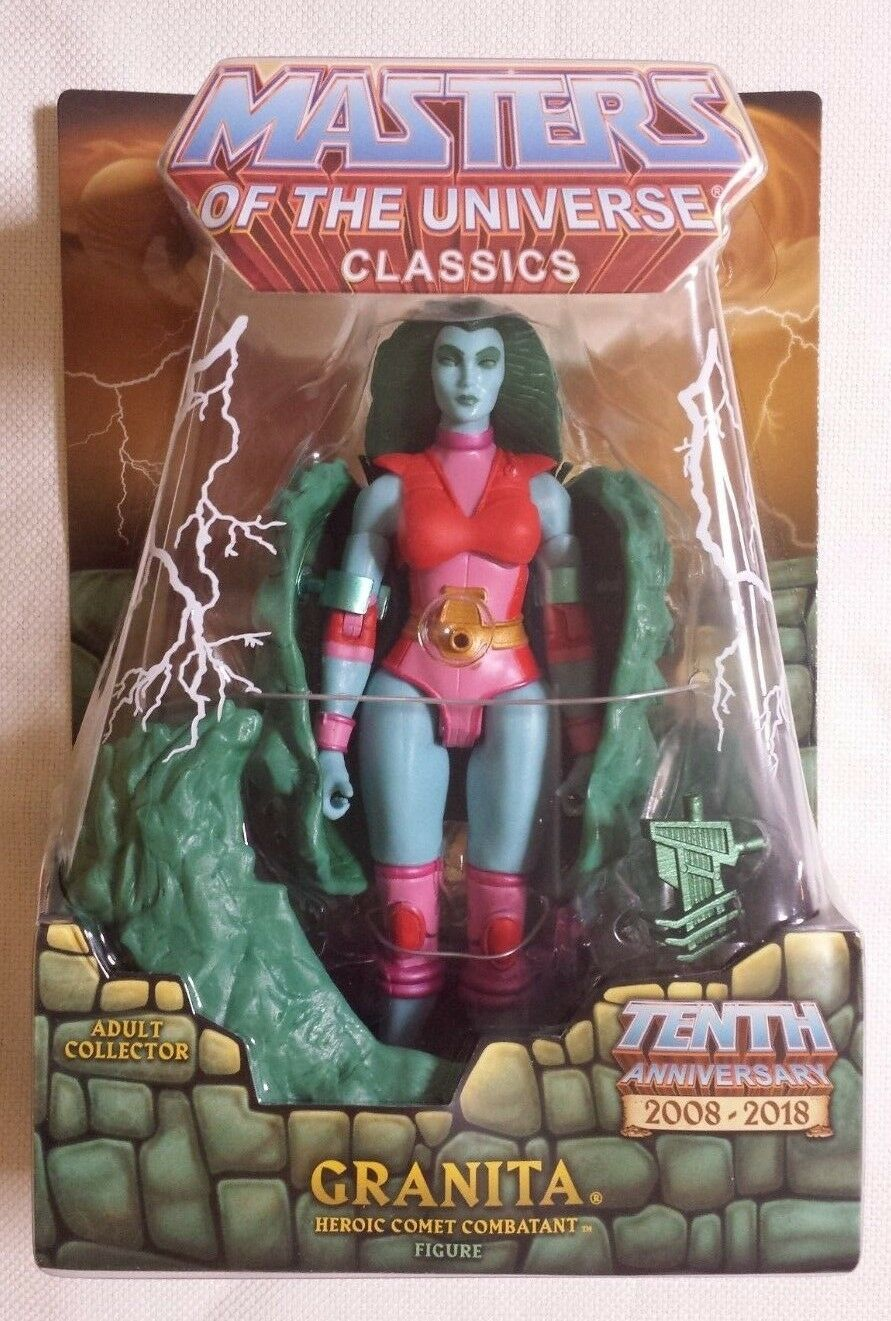 Granita MOTUC Masters of the Universe Classics He-Man MOTU Collector's Choice