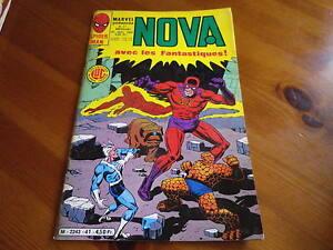 NOVA-n-41-de-1981-SPIDER-MAN-SPIDER-WOMAN-LES-FANTASTIQUES-TBE-comme-neuf