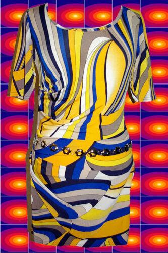 A85 ✪ 60er 70er anni fiori catene CINTURA discoteca revival Woodstock ARGENTO