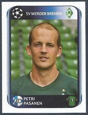 PANINI UEFA CHAMPIONS LEAGUE 2010-11- #027-WERDER BREMEN-PETRI PASANEN