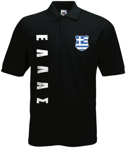 Coupe du monde 2018 Grèce ελλaς Polo-Shirt Maillot Nom Numéro
