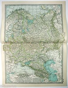Original-1902-Map-of-European-Russia-by-The-Century-Company-Antique