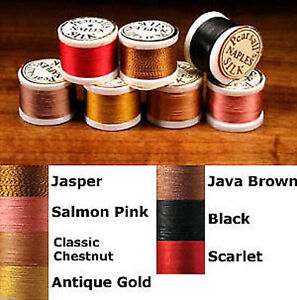 Rod Wrapping PEARSALL/'S GOSSAMER SILK THREAD BROWN Fly Tying