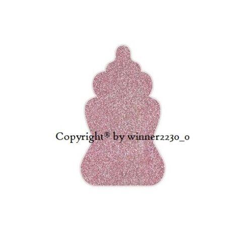 Sparkling Premium Glitter GOLD BABY MILK BOTTLE Shower Envelope Seal Sticker