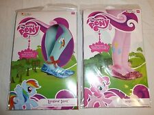 Lot of 2 Child Pantyhose - MY LITTLE PONY Rainbow Dash Pinkie Pie Up to Size 14