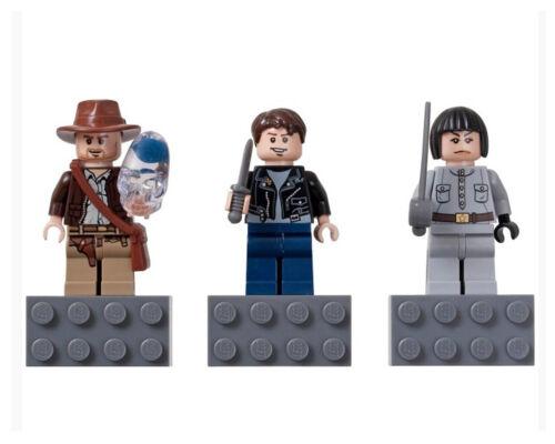 852719 Set Teschio di Cristallo X RARO /& smobilizzato-LEGO INDIANA JONES MAGNETE