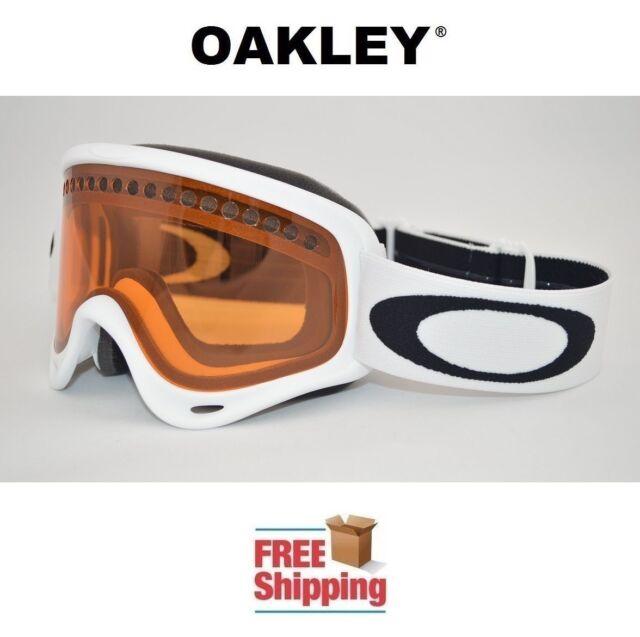 Oakley Snow Board Ski Goggles Matte White Persimmon Anti Fog 2 ...