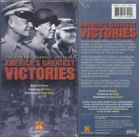 Vhs: 3-video History Channel America's Greatest Victories