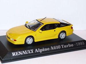 Voiture-1-43-M6-Norev-Universal-Hobbies-RENAULT-Alpine-A610-Turbo-1993