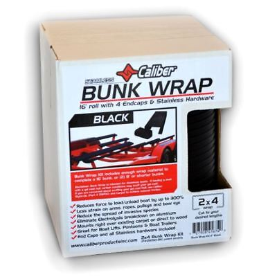 "CALIBER BUNK WRAP 2/""X4/""X 24FT BLACK 23054-BK"