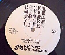 Radio Show:ROCK OF YOUR LIFE #17 MOTOWN: 4 TOPS & #53 WOMEN: S.NICKS/L.RONSTADT