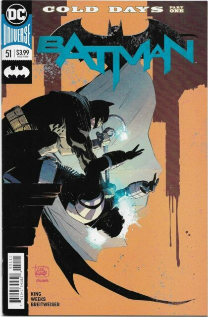 Batman (Rebirth) #51 - VF/NM - The Trial of Mr. Freeze