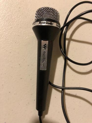 Apple Computer IIgs Sound In Microphone by Roger Wagner HyperStudio