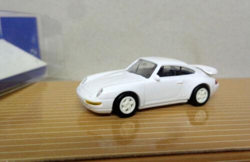 euro modell Berlin Porsche Carrera 993 3,8 RS  weiß  unbespielt 1:87