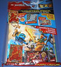 Starter Pack Lego Ninjago TCG 1. Serie! Ninjago Trading Card Game! Mappe etc.