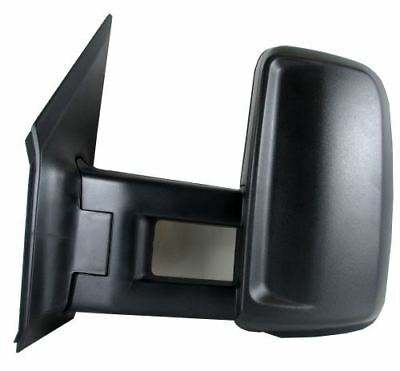 Vw Crafter Door Wing Mirror Electric Black Short Arm Pair Right Left 2006 To 016