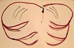 chevrolet gmc chevy 6 5l turbo diesel glow plug wires harness kit rh ebay com
