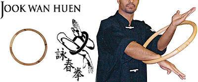 ANELLO RATTAN KUNG FU WING CHUN JOOK WAN HUEN RING WING KUNG FU CHUNG SIU KYUN