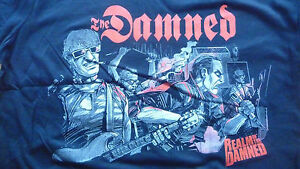 Realm-of-THE-DAMNED-T-Shirt-Size-Large-New-Punk-Goth-Horror-Sex-Pistols-Clash