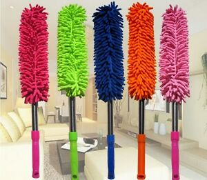 Household Cleaning fibre stick ,Microfibre Scalable chenille Telesscopy handel