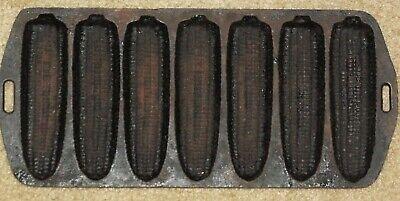Old Mountain Pre Seasoned 10120 7 Impression Cornbread Pan 12 Inch x 5 1//2 Inch